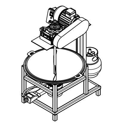PKM : Mesin Pemasak, Pengaduk Petis Semi-Otomatis Dilengkapi Ecu Untuk Meningkatkan Produktivitas UKM Petis